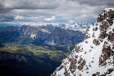 Dolomites - p1234m1051478 by mathias janke
