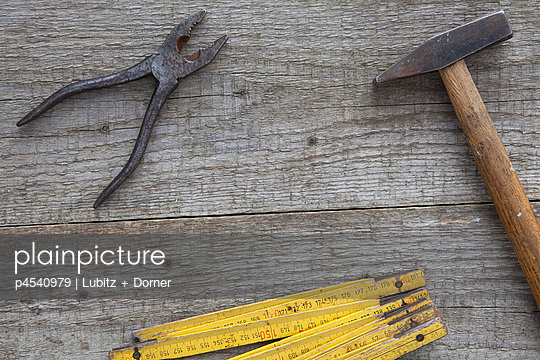 Tools waiting for their assignment - p4540979 by Lubitz + Dorner