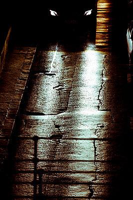 Car in the night - p4320848 by mia takahara