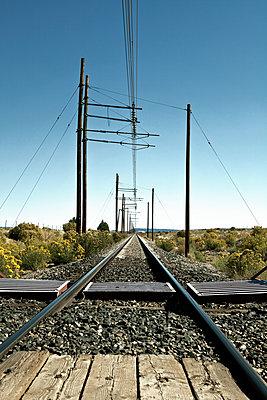 Bahnübergang in Süd Colorado - p1525m2087236 von Hergen Schimpf