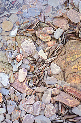 Cornish Pebbles - p3310395 by Gail Symes