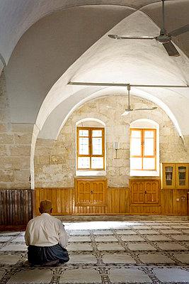 Man in Mosque - p6800102 by Stella Mai