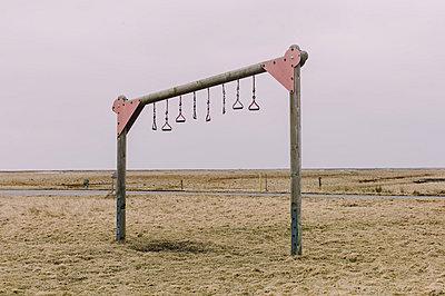 Abandoned playground - p1085m880907 by David Carreno Hansen