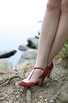 Die roten Schuhe - p3050261 von Dirk Morla
