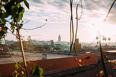 Marrakesh Rooftops - p1253m2152623 by Joseph Fox