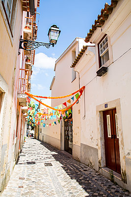 Streets of Lisbon - p535m2020516 by Michelle Gibson