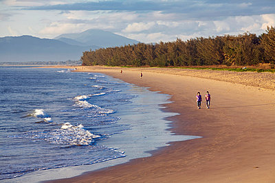 Australia, Queensland, Cairns. Yorkeys Knob beach at dawn. - p652m716708 by Andrew Watson