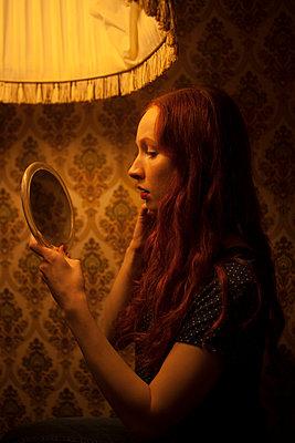 Selbstbetrachtung - p045m1208195 von Jasmin Sander