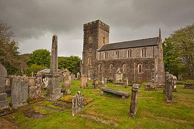 Kirche mit Friedhof in Kilmartin - p3300219 von Harald Braun
