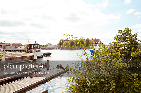 Badestelle in Kopenhagen - p432m1538822 von mia takahara