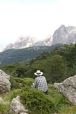 In den Bergen unterwegs - p260m859684 von Frank Dan Hofacker