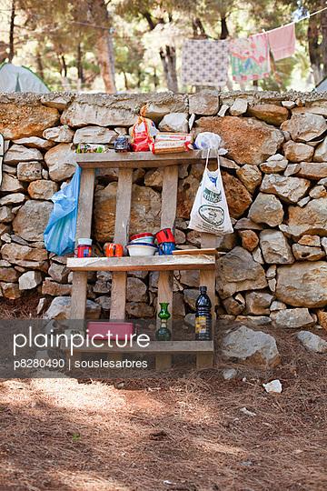 Ausgelagerte Küche - p8280490 von souslesarbres