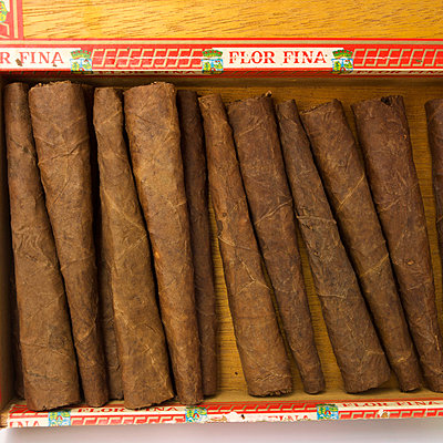 Unusual shaped cigars - p813m831856 by B.Jaubert