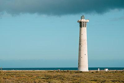 Lighthouse in Fuerteventura, Canary Islands, Spain - p1423m2291498 by JUAN MOYANO