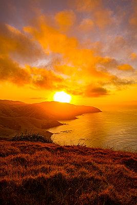 Sonnenaufgang an der Ostküste von Neuseeland - p1455m2203691 von Ingmar Wein