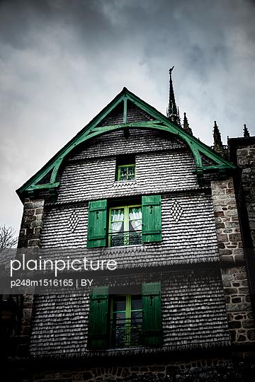 Altes Haus Mont Saint-Michel - p248m1516165 von BY
