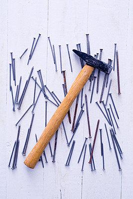 Hammer und Nägel - p1149m2031492 von Yvonne Röder
