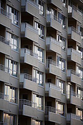 Apartment Building With Balconies, Cape Town, South Africa - p694m663733 by Maria K