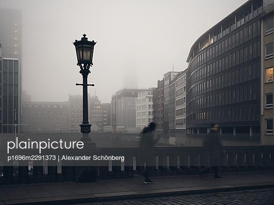 Hamburg in the mist - p1696m2291373 by Alexander Schönberg