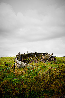 Wreck of a boat - p248m763364 by BY