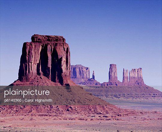Monument Valley - p6140360 by Carol Highsmith