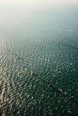 Offshore windfarm, Domburg, Zeeland, Netherlands - p429m1569373 by Mischa Keijser