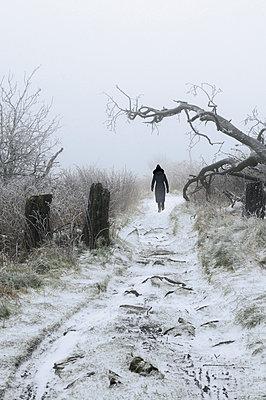 Schneespaziergang - p470m1556389 von Ingrid Michel