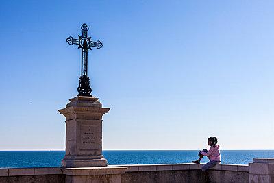 Waiting for god, Nice, France - p778m2037563 by Denis Dalmasso