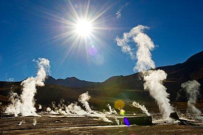 El Tatio geyser, Northern Chile - p871m2101231 by Antonio Busiello