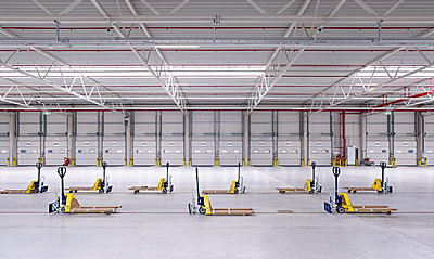 Pallet truck - p1209m1071366 by Guido Erbring