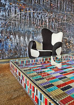 Modern Hotel Lobby - p390m1556464 by Frank Herfort