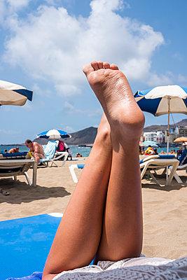 Entspannung am Strand - p229m2107311 von Martin Langer