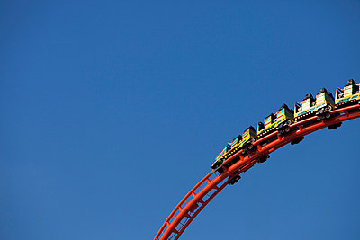 Rollercoaster at Oktoberfest, Munich, Germany - p609m658953 by WRIGHT