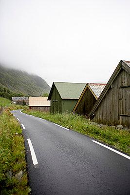 Country road, Stadlandet, Norway - p8162118 by Nicki Twang