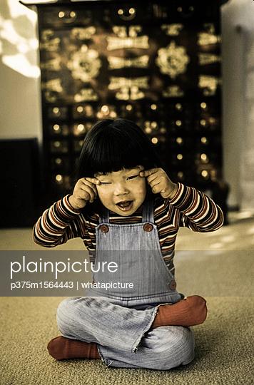 Kleines Mädchen - p375m1564443 von whatapicture