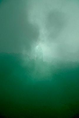 Geislinger Wehrturm im Mondlicht - p3790176 von Scheller