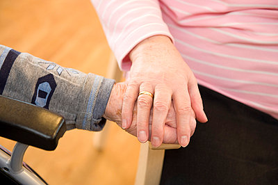 Elderly care - p6430160 by senior images