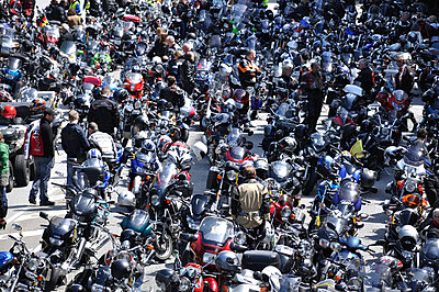 People on motor-cycles - p3660009 by Hartmut Gerbsch