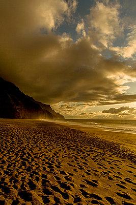 Na Pali Beach - p741m892059 von Christof Mattes