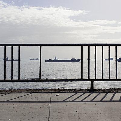 Schiffe im Marmarameer - p1138m971480 von Stéphanie Foäche