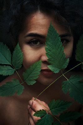 Hinter Blättern - p1341m1559674 von Conny Hepting