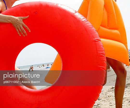 Spaß am Strand - p56711002 von Alexis Bastin