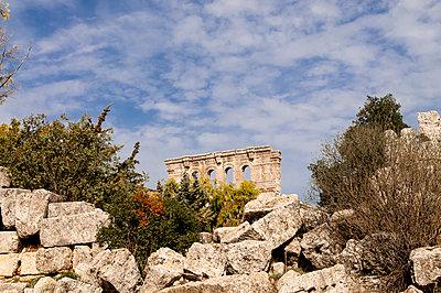 Frühbyzantinisches Kloster des Simeon, Simeonskloster, Aleppo, Syrien - p1493m2063601 von Alexander Mertsch