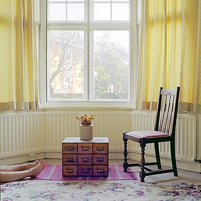 Britisches Wohnzimmer - p4860040 von anneKathringreiner