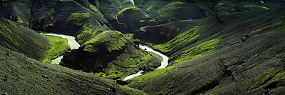 Mäandernder Fluss - p844m1118959 von Markus Renner