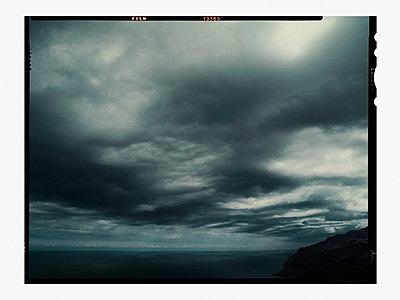 Thunderclouds at Mallorca island - p1342m1332646 by Sebastian Burgold