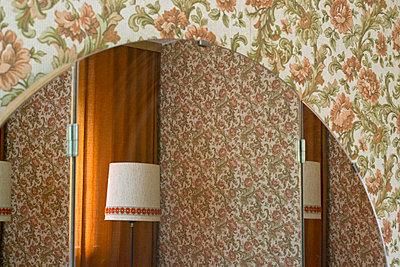 Retro Spiegel - p1199m1051041 von Claudia Jestremski