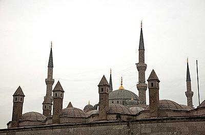 Blue Mosque - p3820297 by Anna Matzen