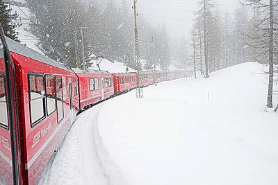 Bernina Railway Line - p871m838799 by Christian Kober