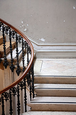 Weathered Staircase - p1248m2134707 by miguel sobreira
